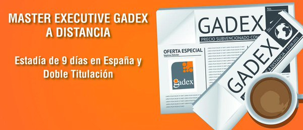 Master Executive Gadex 2016
